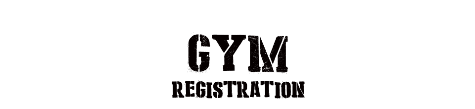 gymregistration